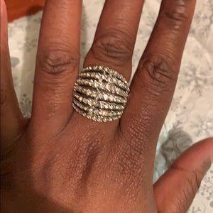 Jewelry - New diamond rhinestone ring